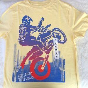 Crazy 8 Boy Tee dirt bike - Medium 👦🏻💖